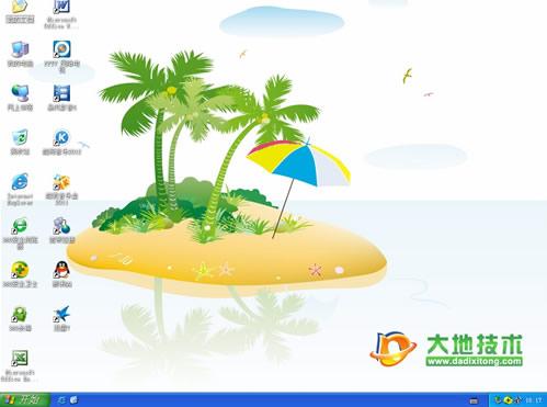 大地GHOST XP SP3装机版2012.03
