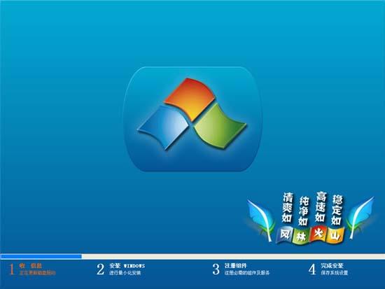 风林火山 GHOST Win7 SP1 贺岁旗舰版 V2012.01(32位)